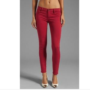 Blank NYC Super Skinny Red Jeans